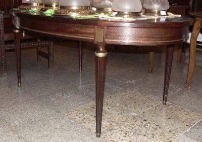 mesa comedor ovalada archivos | Antigüedades MAESTRE